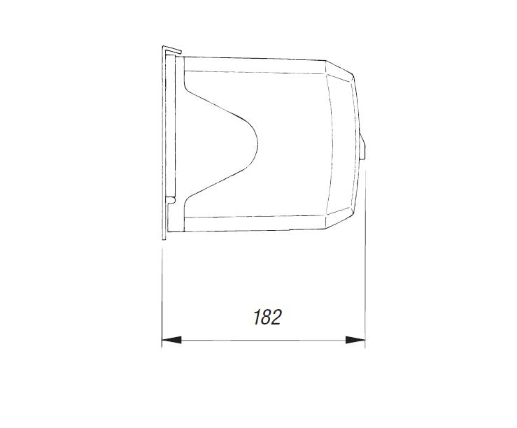 Привод CAME 001F1024 — 24 В рычажный для распашных ворот, самоблокирующийся с шарнирным рычагом передачи