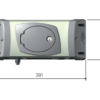 Привод CAME FE40230 — 230 В рычажный, самоблокирующийся с энкодером и шарнирным рычагом передачи, для распашных ворот с установкой на столбах больших размеров