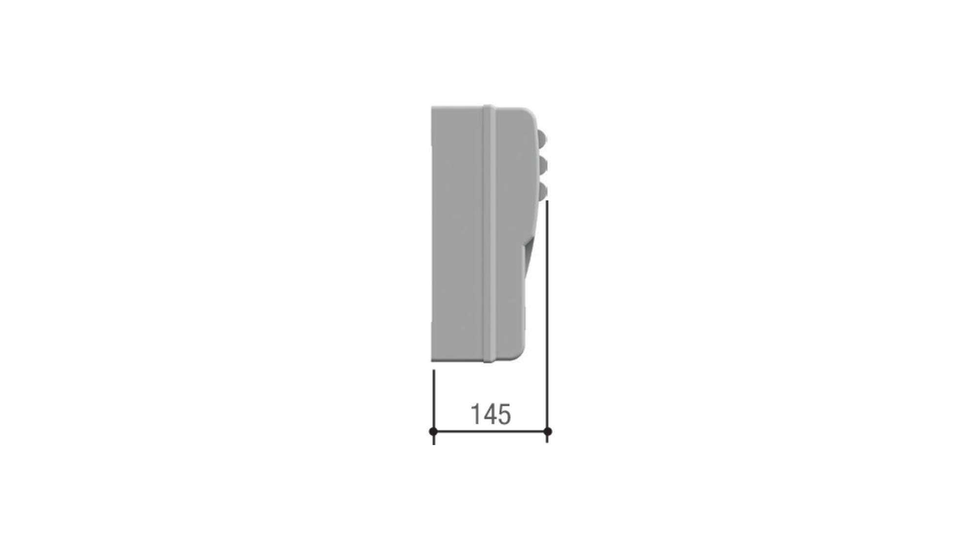 CAME 002LB18 — cистема аварийного питания в корпусе для подключения и зарядки аккумуляторов