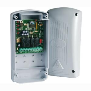 CAME RBE4230 — Радиодекодер внешний двухчастотный 4-х канальный 230 В, IP54, 3000 передатчиков