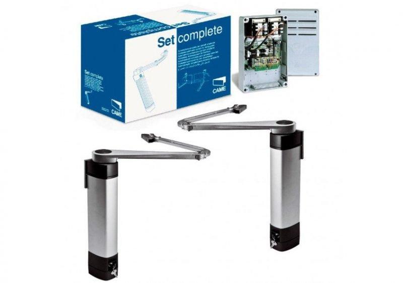 CAME STYLO — комплект автоматики для небольших распашных ворот со створками длиной до 1,8 м