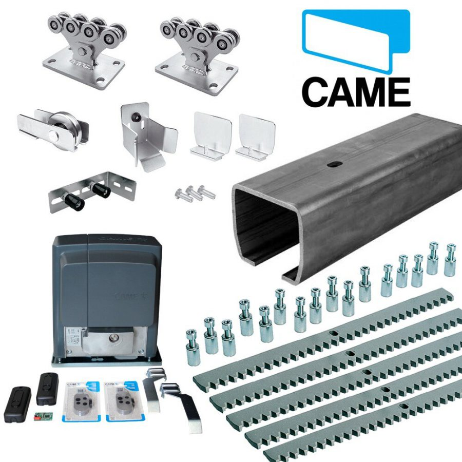 L — КОМПЛЕКТ — комплектующие СAME для откатных ворот с приводом BKS18AGS